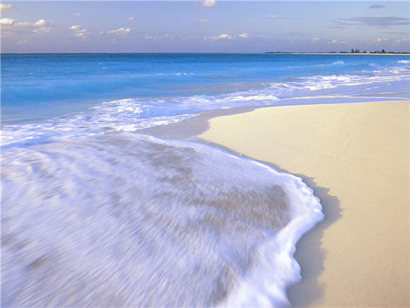 wallpaper beach. Blue Beach Wallpaper