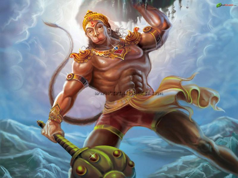Download Hindu God Hanuman Wallpapers ~ Karthik's Blog