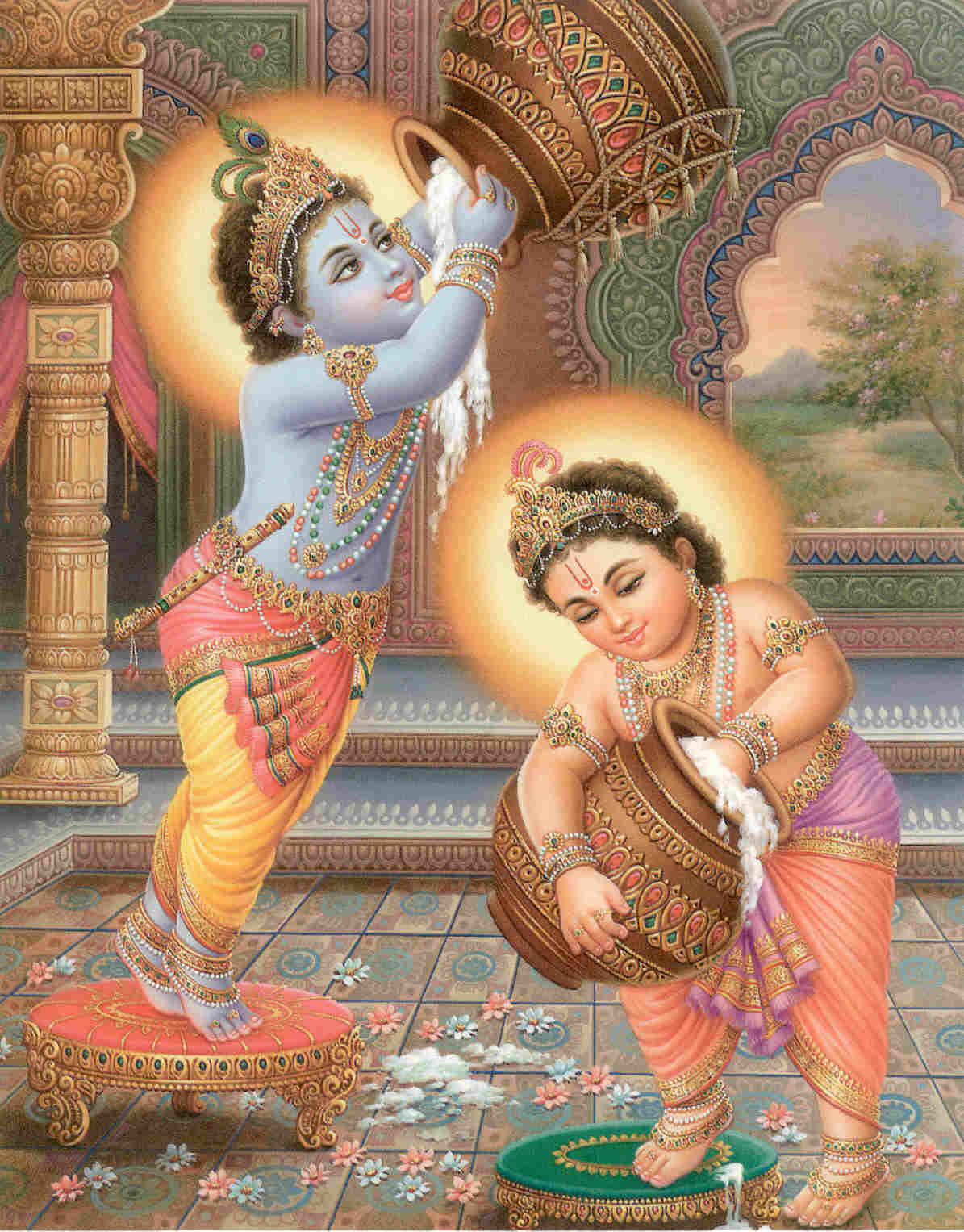 Gambar Tuhan Hindu http://karthik-btech.blogspot.com/2010/09/download-hindu-god-krishna-wallpapers.html