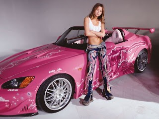 Car and Sexy Girls