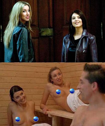 Actresses: Barbara Nedeljakova and Jana Kaderabkova