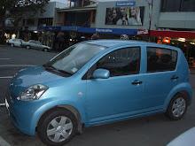 La voiture de tous les Néo Zélandais...tu es à la page Maman!