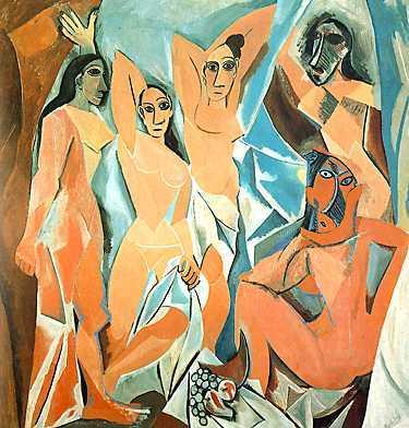 pinturas de picasso. la pintura tradicional.
