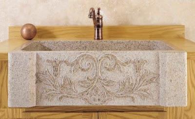 Chiuvete pentru baie din piatra