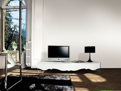 Masuta de televizor negru