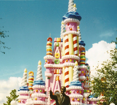 Do you remember when Cinderellas Castle Looked Like a Cake
