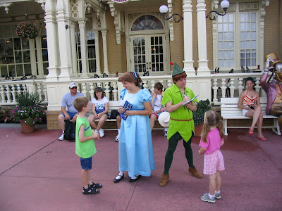 walt disney world characters. planned character greeting