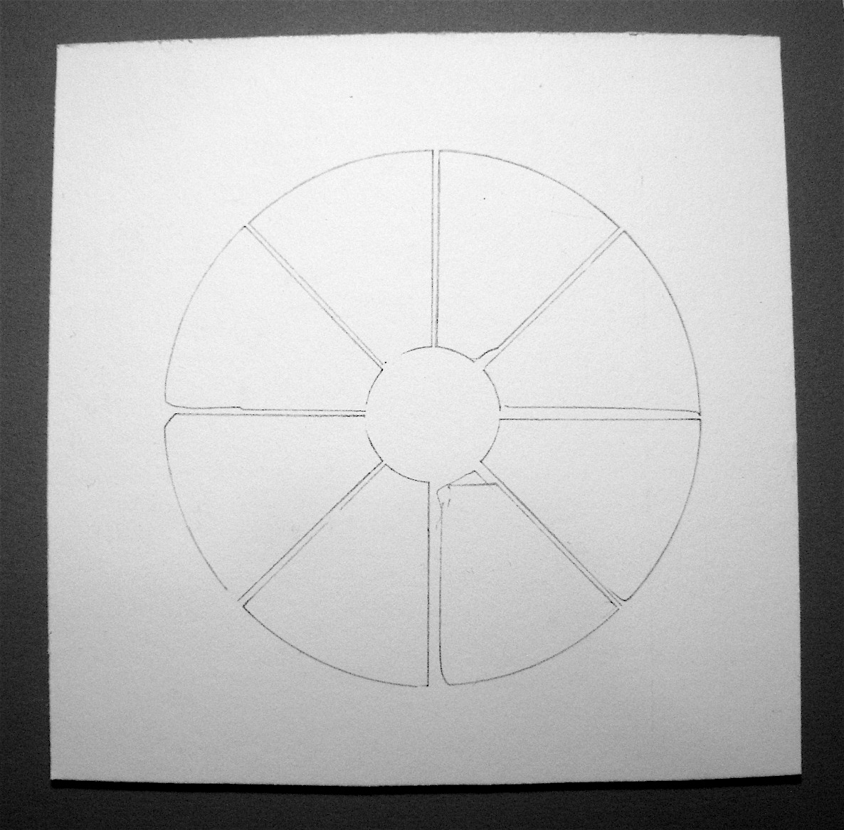 Enthusiastic Artist: A simple mandala template