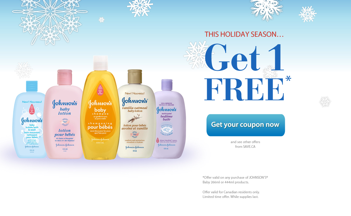 Johnson and johnson baby coupons canada