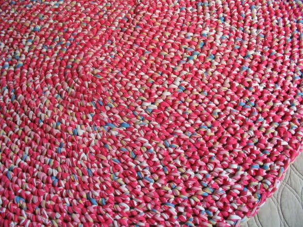 Puerta al sur decorar con alfombas ovaladas o redondas en - Telas para alfombras ...
