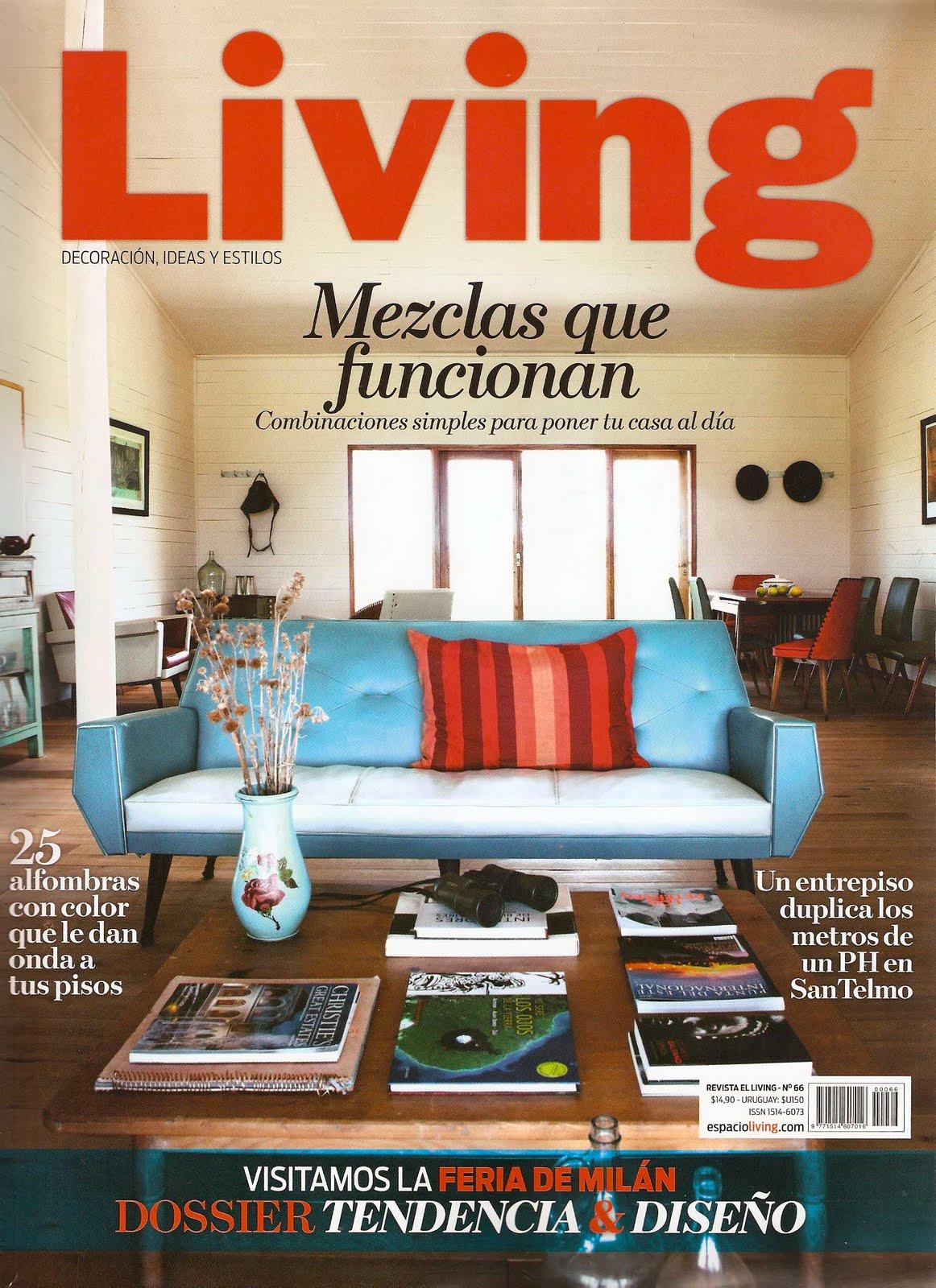revista living especial alfombras pistas de vuelo