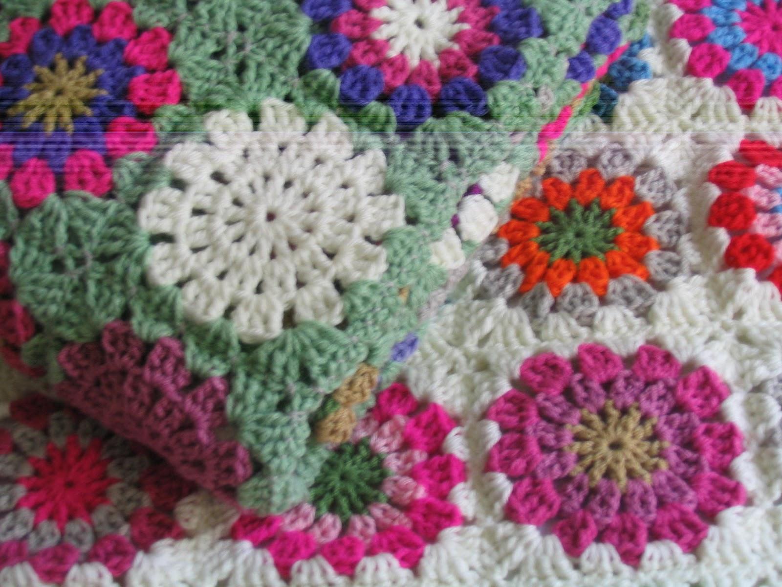 al sur mantas para bebe tejidas a crochet ideales para la cuna