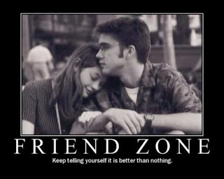 I had been thrown into the friend zone and like this photo, thought it was better than nothing.