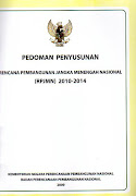 Pedoman Penyusunan RPJMN 2010 - 2014