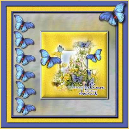 My Blue Butterfly Dreams