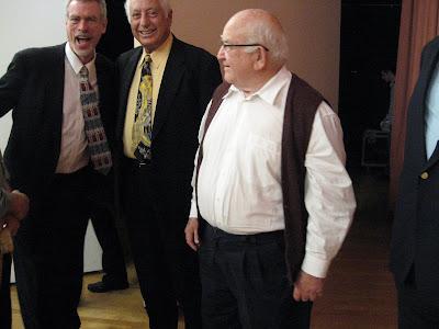 Steve Schalchlin, Herb Isaacs, Ed Asner