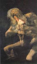 SATURNO DEVORANDO A UN HIJO *Goya*