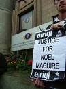 Dignified campaigners call for Noel Mcguire to be returned to his homeland