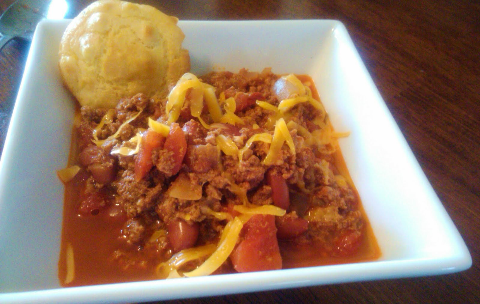 It Started With One.....: 30-minute Chili and Mini Cornbread ...