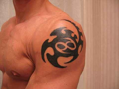Free tribal tattoo designs 82. Cancer Zodiac Tattoos On Arm