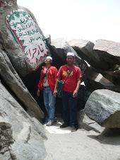Di Gua Hira' (Jabal Nur):