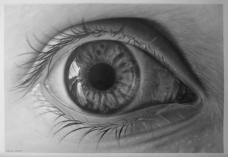 TZIQUI ARTWORKS BLOG: OJO Fotorealista 1