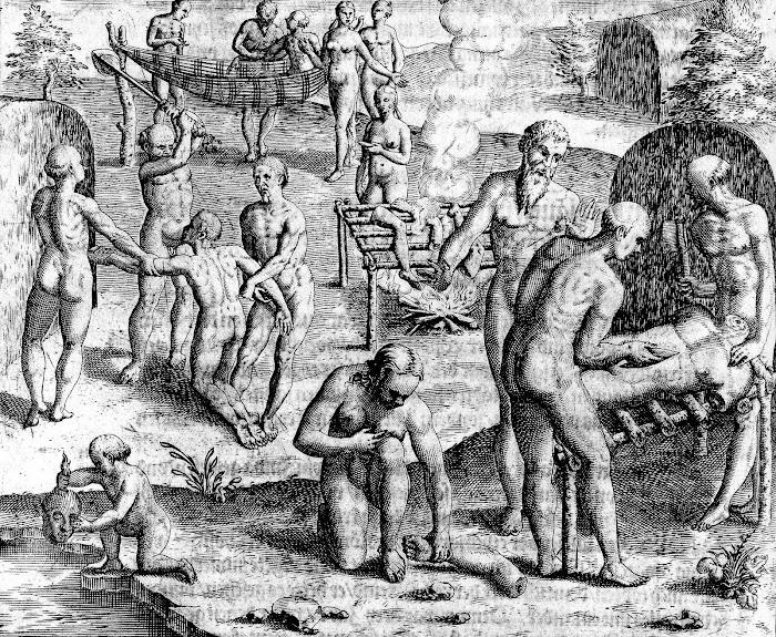 Massacre ritual dos inimigos, praticado pelos índios do Brasil