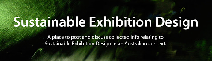 Sustainable Exhibition Design