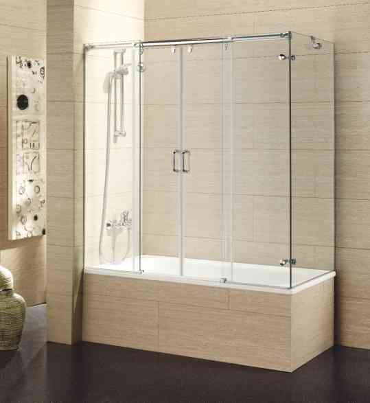 Puertas De Baño Templadas:puerta de ducha y mampara de aluminio
