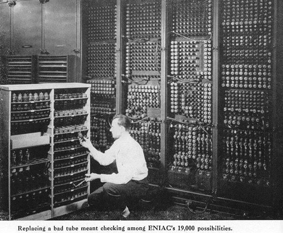 L 39 histoire de l 39 ordinateur le premier ordinateur lectronique - Invention de l ordinateur ...