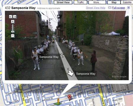 street view funny. Street View Sampsonia Way,