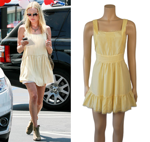 Bad Joan ...it's good to be bad!: get that look: YELLOW DRESS