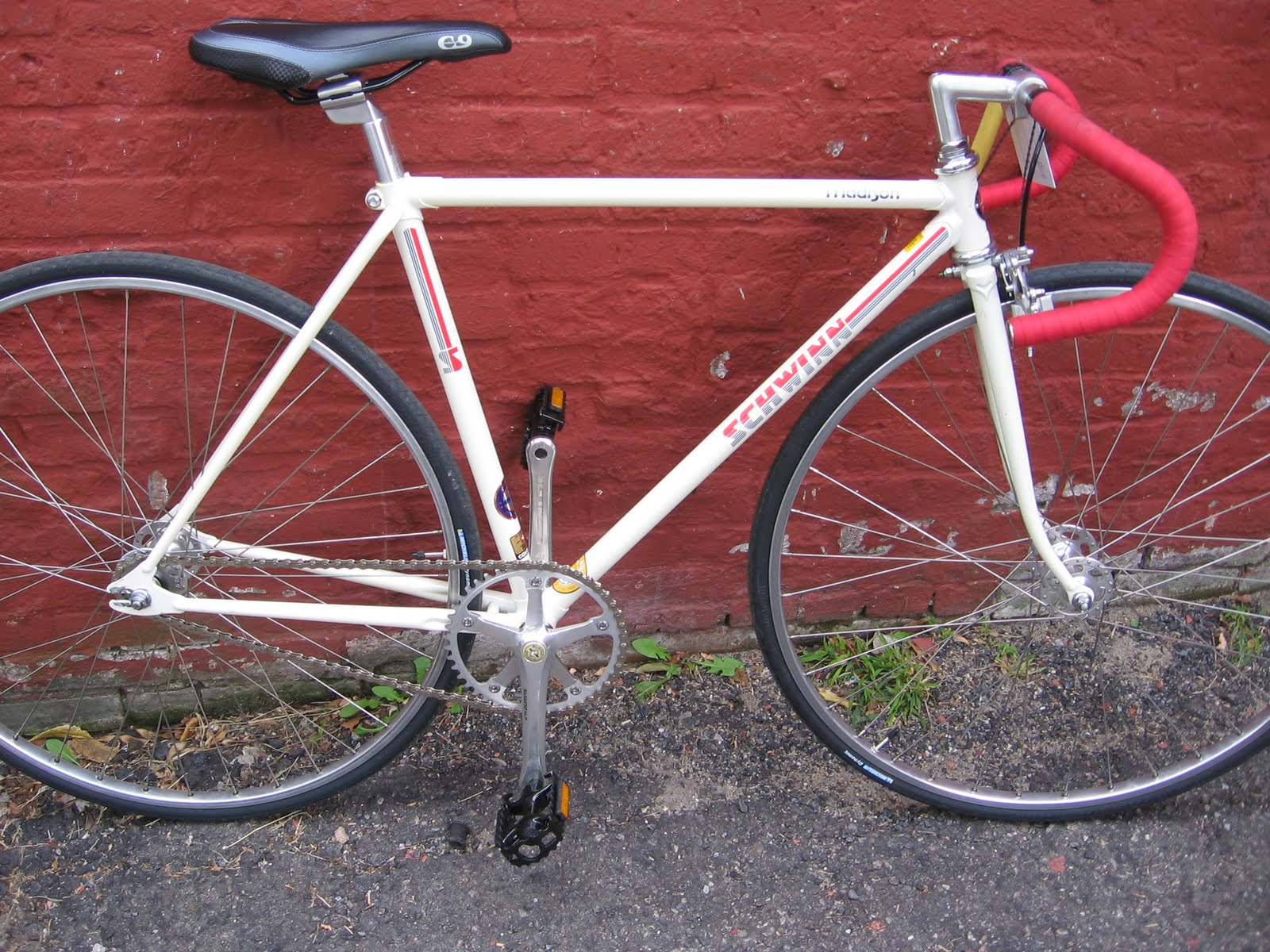 Bike of the Month: vintage Schwinn Madison track bike ...