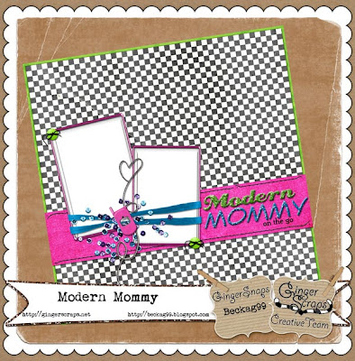 Quick pages and albums Modern-mommy-qp-package