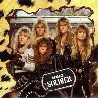 Clique para fazer download do álbum Holy Soldier - Holy Soldier (1990)