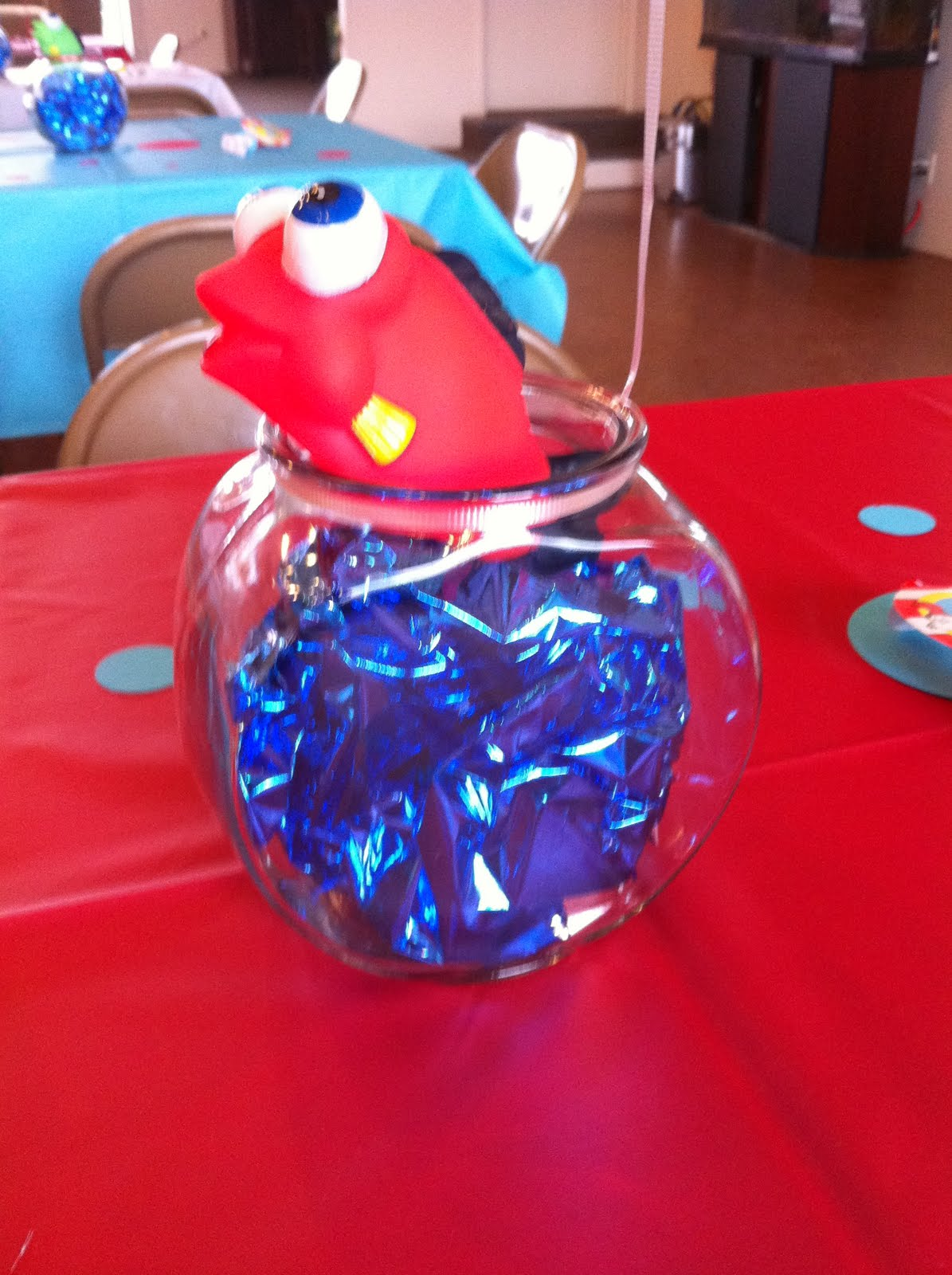 Stamp with rose dr seuss party for Plastic fish bowls dollar tree