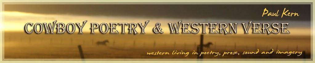 Paul Kern's Cowboy Poetry & Western Verse