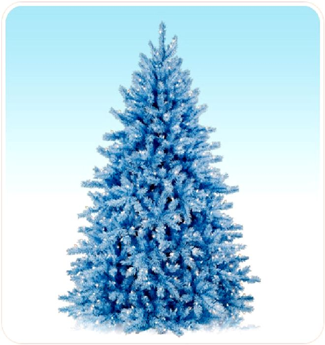 Fifi flowers blue tree metamorphosis - Blue themed christmas tree ...