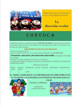 CONVOCATORIA PARA EL CONCURSOS DE LIMAS