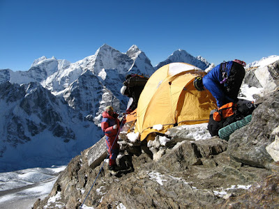Camp 2 on Ama Dablam