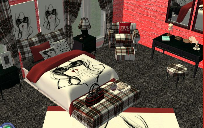 life 39 s a beach sims 2 and 4 chic bedroom set