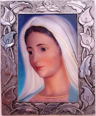 Cuadro Grande de la Virgen