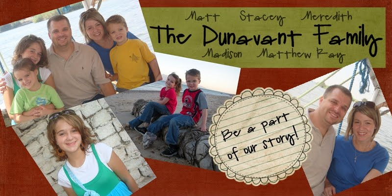 The Dunavant's Journey