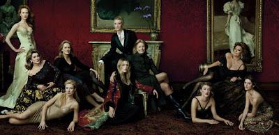Nicole Kidman, Catherine Deneuve, Meryl Streep, Gwyneth Paltrow, Cate Blanchett, Kate Winslet, Vanessa Redgrave, Chloë Sevigny, Sophia Loren, and Penélope Cruz