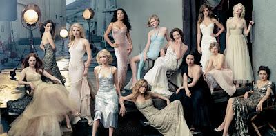 Julianne Moore, Jennifer Connelly, Gwyneth Paltrow, Naomi Watts, Salma Hayek, Jennifer Aniston, Kirsten Dunst, Diane Lane, Lucy Liu, Hilary Swank, Alison Lohman, Scarlett Johansson, and Maggie Gyllenhaal.