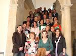 """En Baeza, en la presentación del libro""""La mirada de Leonor"""",  junto a Carmen Posadas, su escritora-"""