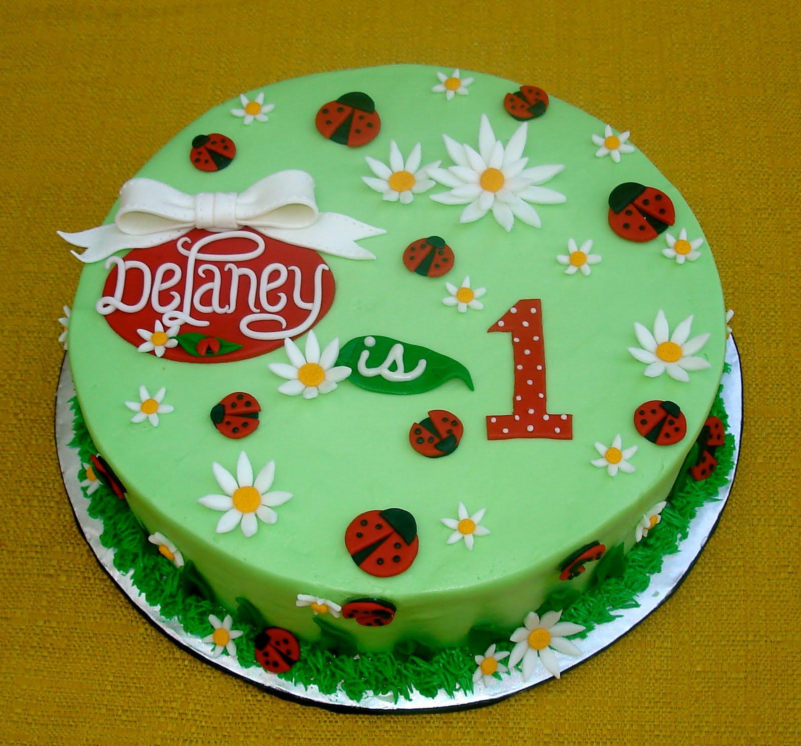 Susanas Cakes Ladybug Cake