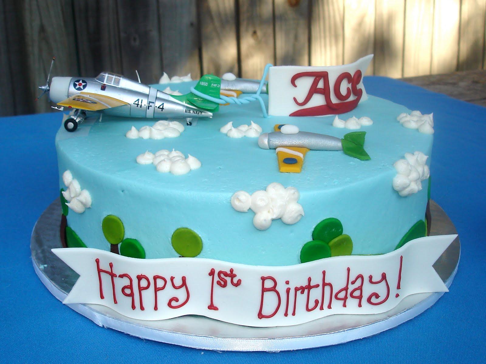 Susanas Cakes Flying Aces Birthday Cake