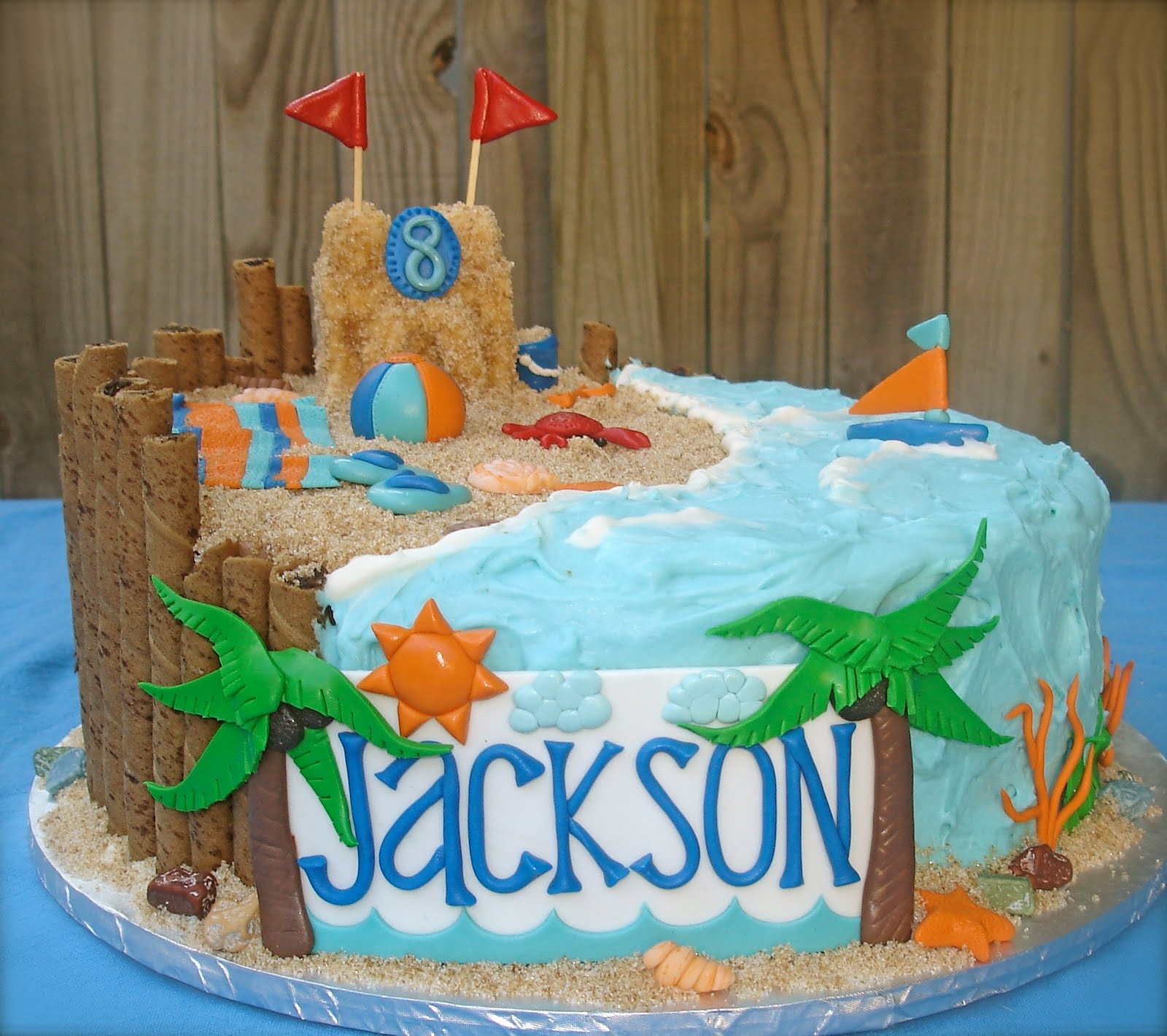 Susanas Cakes Another Beach Cake
