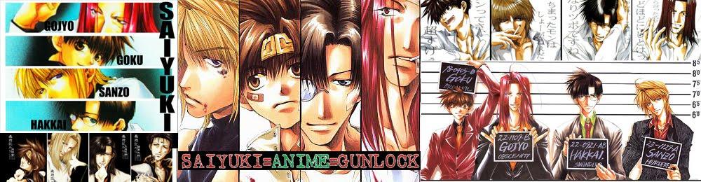 Saiyuki Anime Gunlock